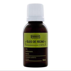 Óleo de Rícino FARMAX - 30 ml