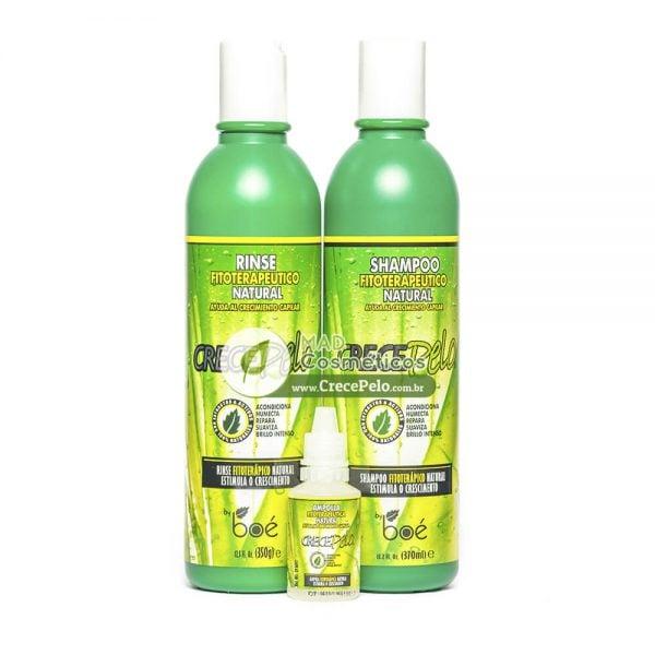 Kit: Shampoo + Condicionador + Ampolla