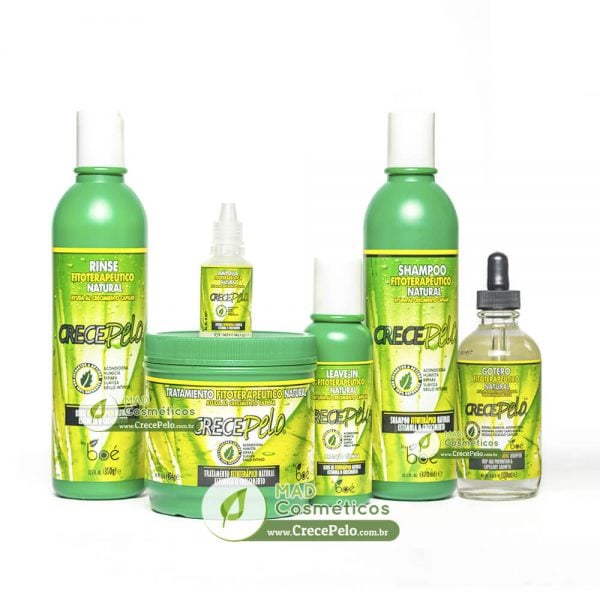 Kit CrecePelo Completo – 6 Itens + Brindes