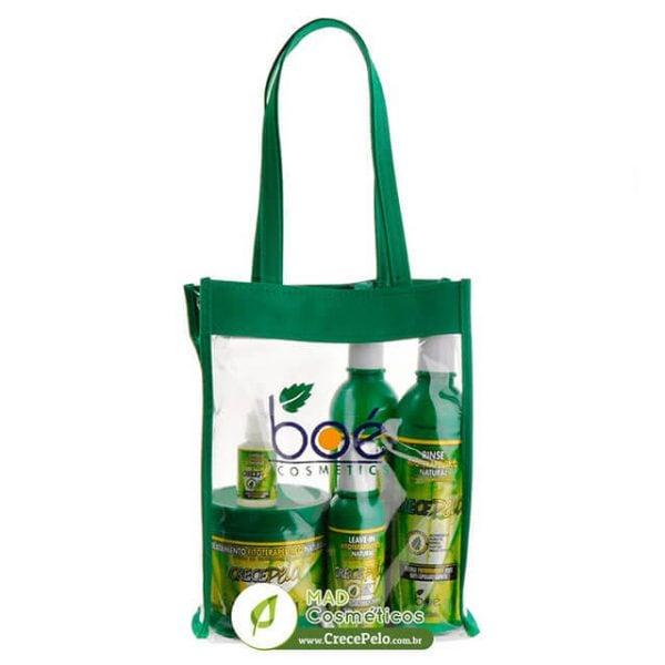 Kit Crece Pelo: 5 itens + Bolsa