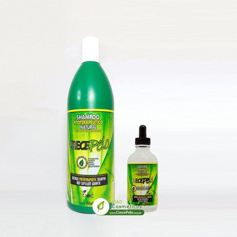 Kit Shampoo 965ml Gotero 120ml