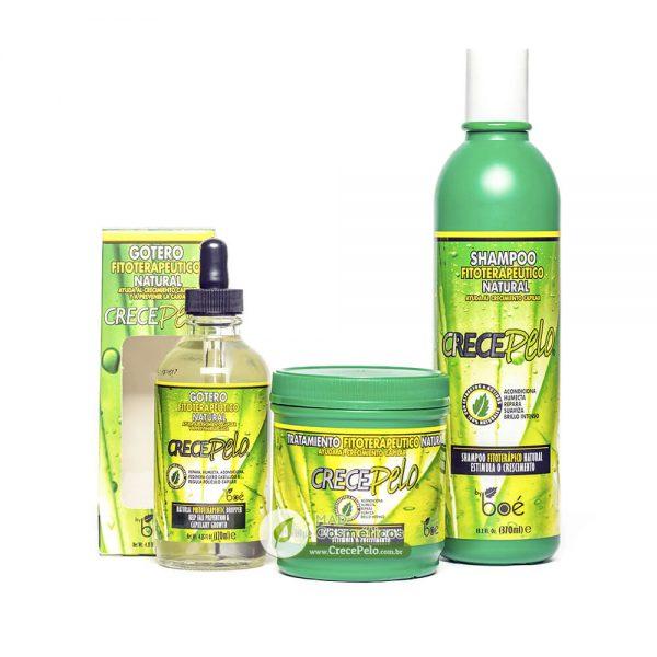 KIT: Shampoo + Máscara + Gotero
