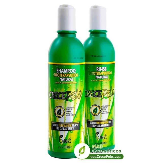 Shampoo e Condicionador Crece Pelo