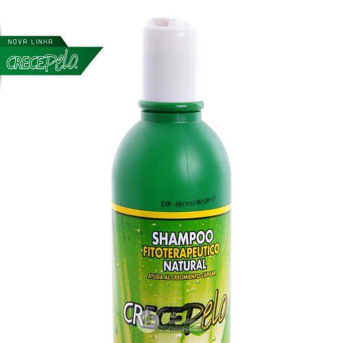 Tampa do Novo Shampoo CrecePelo