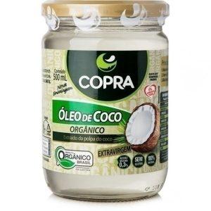 Óleo de Coco Orgânico 500ml Extra Virgem Copra 100%