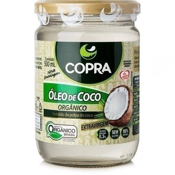 Óleo de Coco Orgânico Extra Virgem